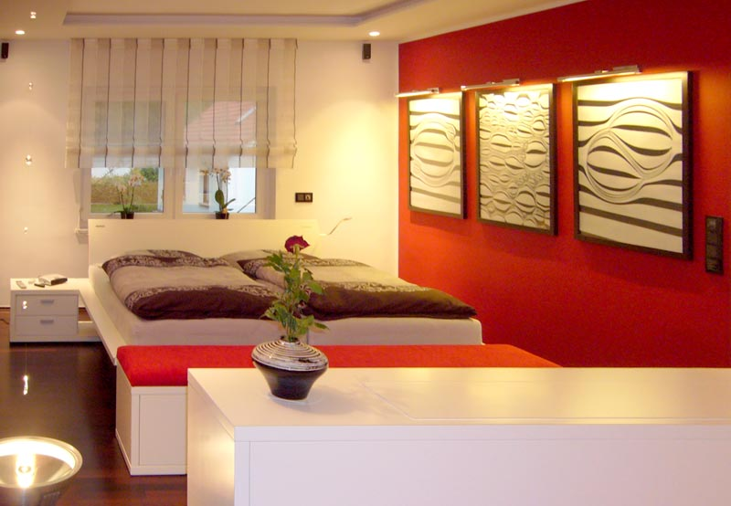 schlafzimmer die raumidee. Black Bedroom Furniture Sets. Home Design Ideas